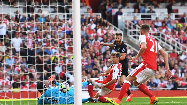 Adam Lallana finished neatly for Liverpool's second