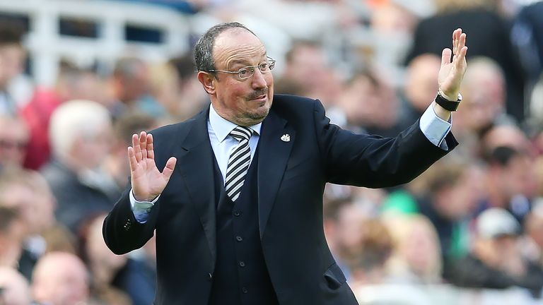 Newcastle United manager Rafa Benitez set out looking for the Championship title in his first full season at the club