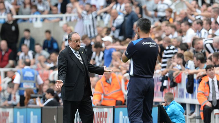 Rafael Benitez has seen his Newcastle side suffer back-to-back defeats