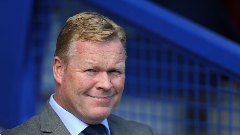 Ronald Koeman has been linked with a move for a new goalkeeper