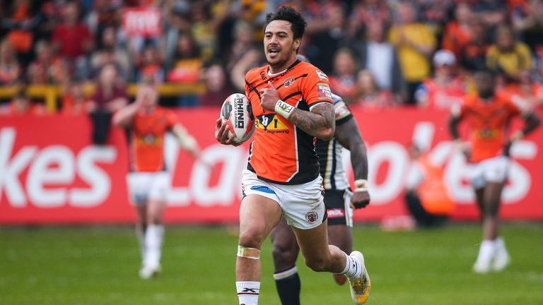 Denny Solomona has been picked by the pundits in their team of the year
