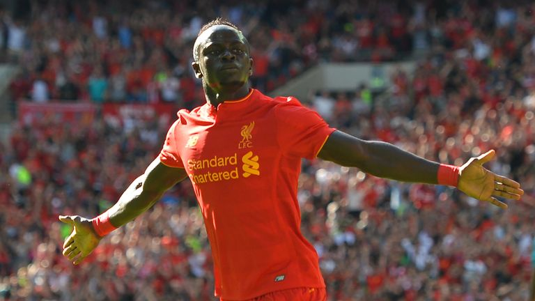 Sadio Mane has been a hit at Liverpool, scoring nine goals in 19 Premier League appearances so far