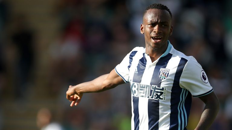 Saido Berahino has not featured for West Brom since September
