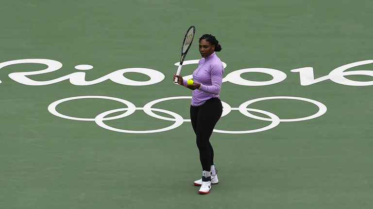 Williams failed to defend her Olympic singles title at the 2016 Games in Rio