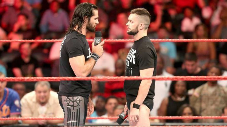 Image result for seth rollins finn balor