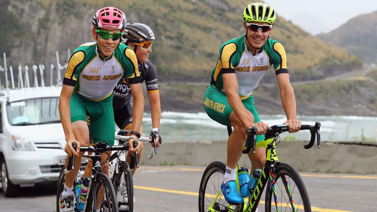 Image result for Louis Meintjes olympic road race
