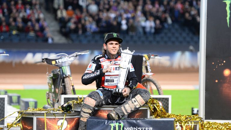 Tai Woffinden will not be in action for Great Britain next term