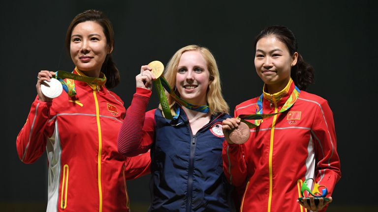 American Shooter Ginny Thrasher Wins 1st Gold of Rio Olympics