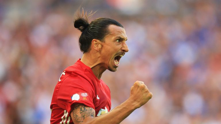 Zlatan Ibrahimovic has already scored on debut against Bournemouth and