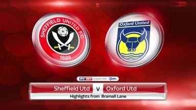 Sheffield United 2-1 Oxford