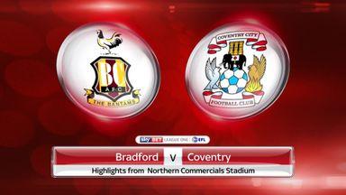Bradford 3-1 Coventry