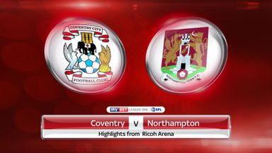 Coventry 1-1 Northampton