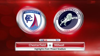 Chesterfield 1-3 Millwall