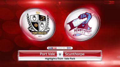 Port Vale 3-1 Scunthorpe