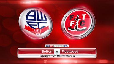 Bolton 2-1 Fleetwood