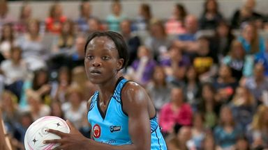Bongiwe Msomi played for Surrey Storm last season but joins Wasps Netball for 2017