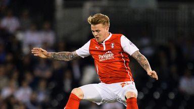 Danny Ward of Rotherham United got the winner