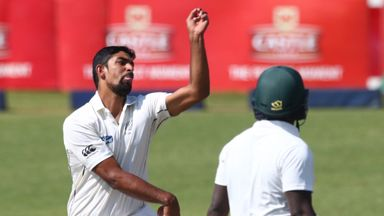 Legspinner Ish Sodhi starred in New Zealand