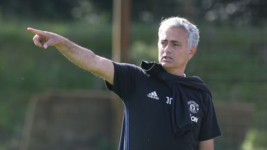 Jose Mourinho does not expect to be spotting any helicopters next week