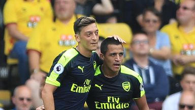 Mesut Ozil and Alexis Sanchez are entering the final 18 months of their Arsenal deals