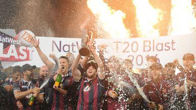 Northamptonshire Steelbacks won last year's Natwest T20 Blast