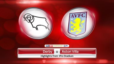 Derby 0-0 Aston Villa