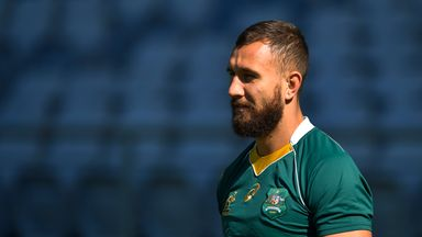 Quade Cooper has received a call-up to Australia's starting line-up for Saturday's match against New Zealand