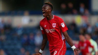 Tammy Abraham has been named PFA Fans' Player of the Month in the Championship