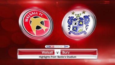Walsall 3-3 Bury