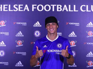David Luiz has re-signed for Chelsea (Credit - Chelsea FC)