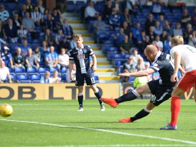 Ross County's Liam Boyce scores the opener