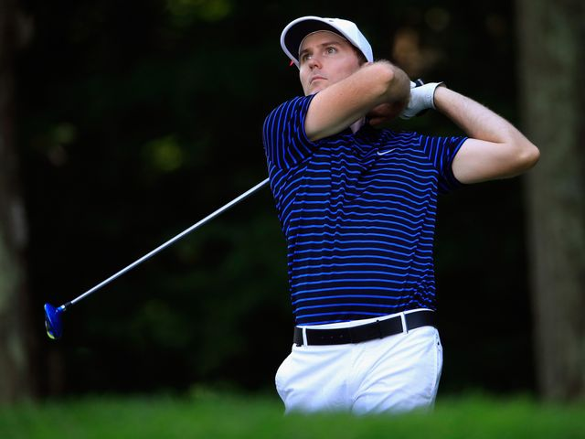 Berger shoots 62 to take lead after 3 rounds at Travelers