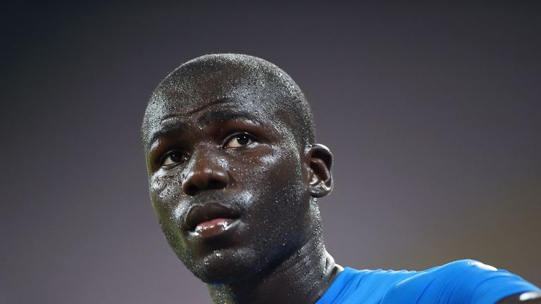 There is a 90 per cent chance Kalidou Koulibaly will remain at Napoli - Sky Italy