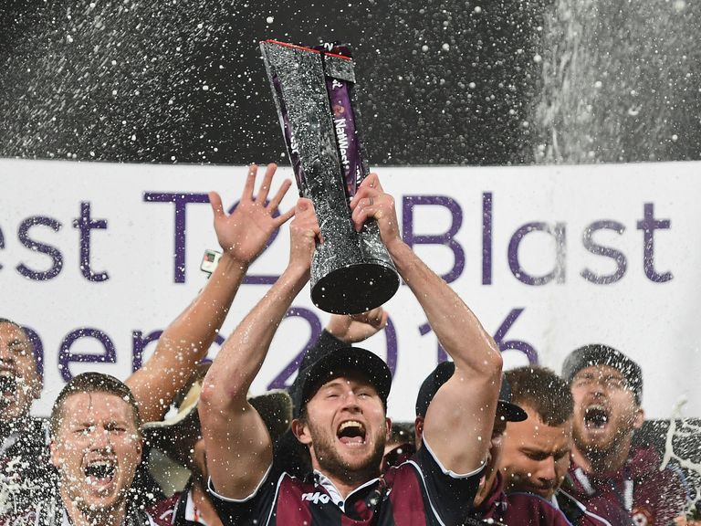 Northants were picked out as 9/2 winners of the T20 Blast