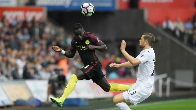 Sagna is likely to feature when City host Chelsea in the Premier League on Saturday, live on Sky Sports 1 HD from 11.30am