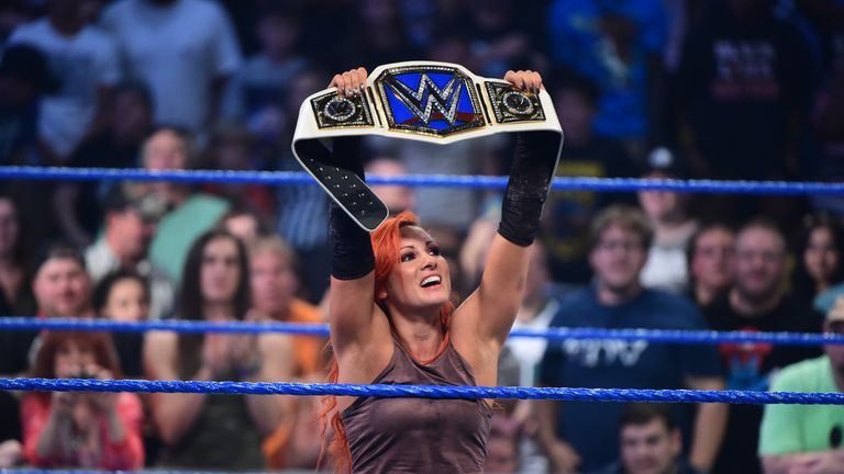 Image result for becky lynch womens champion backlash