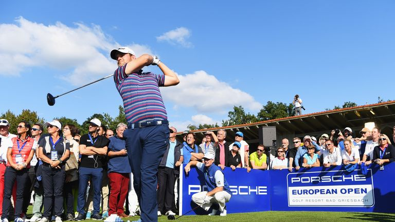Wiesberger fired nine birdies and an eagle during an impressive opening round