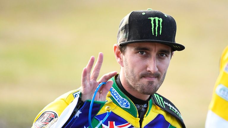 Chris Holder was the key man in Poole's victory