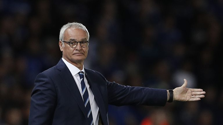 Claudio Ranieri's side have a 100 per cent record in the Champions League this season