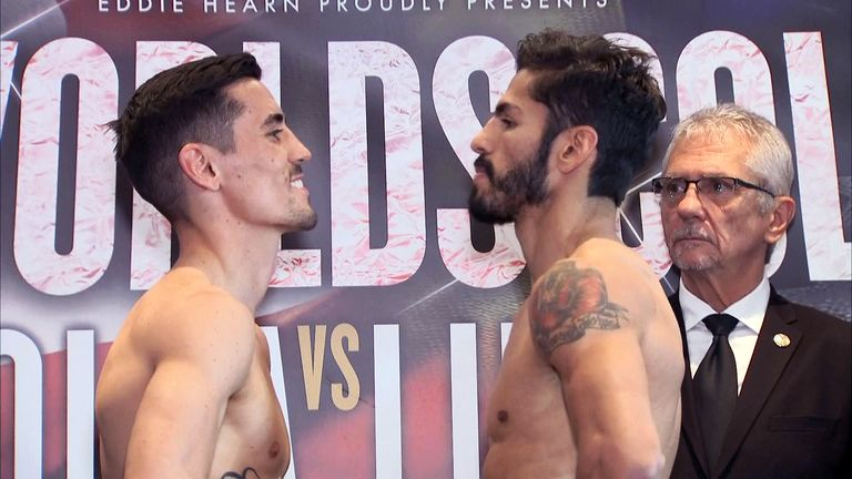 Anthony Crolla and Jorge Linares both made weight