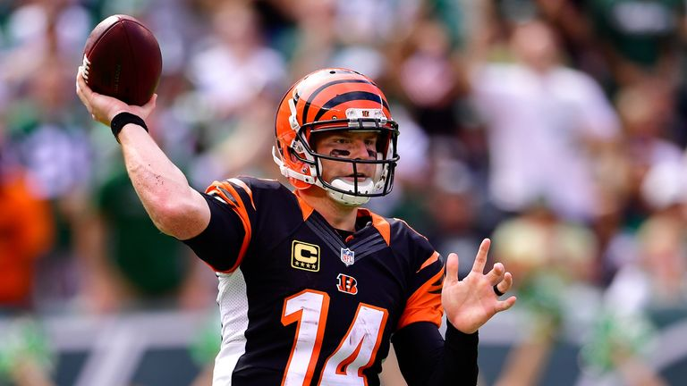 Can Andy Dalton bounce back from throwing four interceptions in Week One?