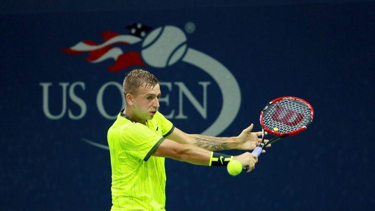 Dan Evans bows out to Stanislas Wawrinka in US Open