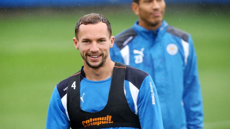 Drinkwater was a key figure in Leicester's title success last season
