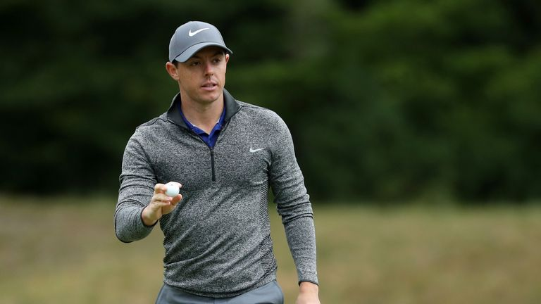 Rory McIlroy defied the conditions to fire a superb 65 on the final day