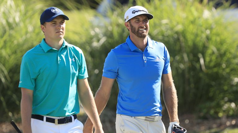 Jordan Spieth and Dustin Johnson both chase FedExCup victory this week
