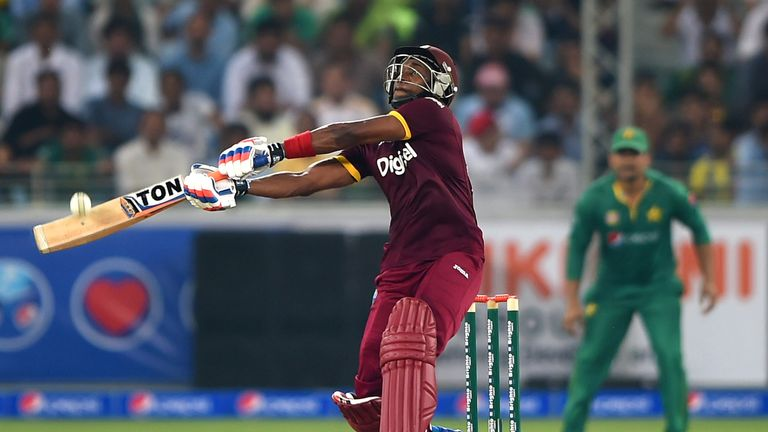 Dwayne Bravo scored a half-century for West Indies but it proved to be in vain