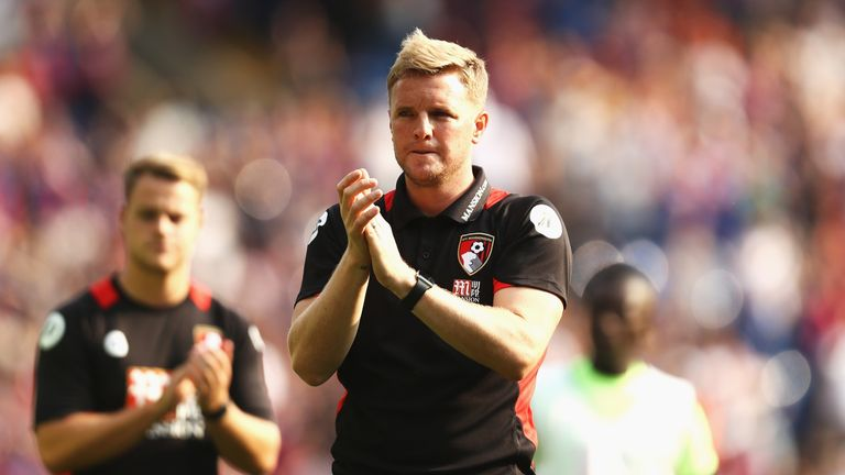 Eddie Howe has been instrumental to Bournemouth's success