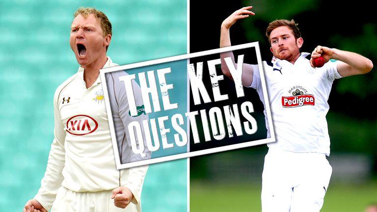 Gareth Batty and Liam Dawson