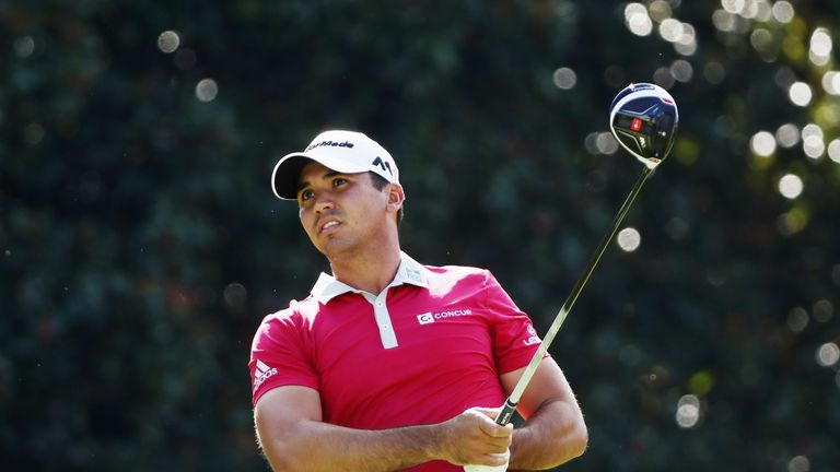 Jason Day moved within a shot of the lead with a birdie at the 18th
