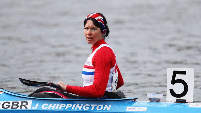 Jeanette Chippington has won 12 medals over six Paralympics